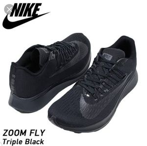 New Nike Zoom Fly Triple Black